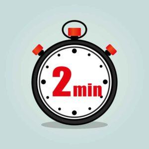 2-Minuten-Regel